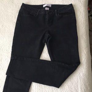 NOBO Junior Ankle Length Skinny Black Jeans